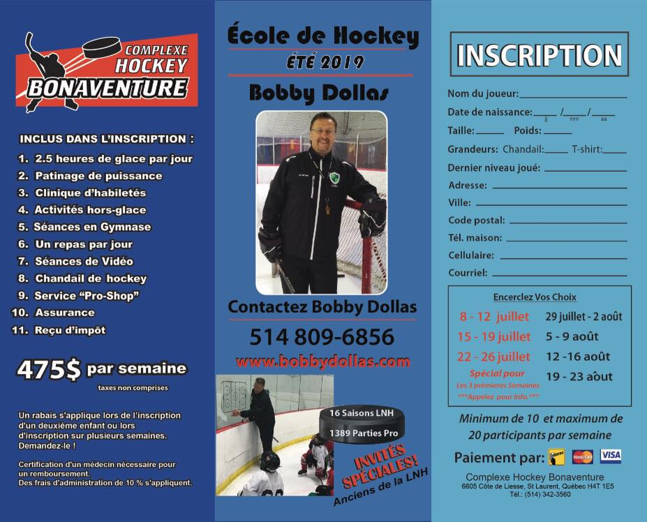 École de hockey Bobby Dollas